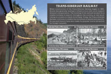 Micronesia - Trans Siberian Railway - Sheet of 4 Stamps - MNH
