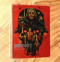 Wolfenstein 2 II The New Colossus Steelbook PS4 Xbox One G2 NO GAME Kein Spiel