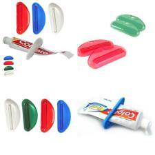 3 Ez Plastic Tube Squeezer Toothpaste Dispenser Holder Rolling Bathroom.