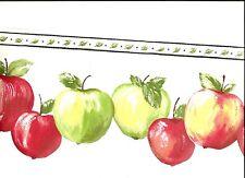 Red And Green Dye-Cut Apples Cornerstone Wallpaper Border Bp007154B