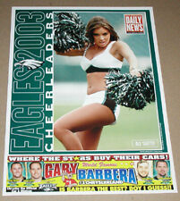 New listing 2003 ALI SIOTTO PHILADELPHIA EAGLES CHEERLEADERS FOOTBALL POSTER DAILY NEWS