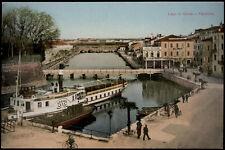 cartolina PESCHIERA lago di garda