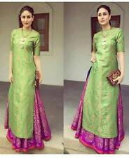 Indian Stylish Ethnic Punjabi Patiala Suit Salwar Kameez Dress Material Women