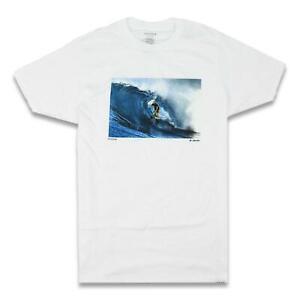 Nixon Mens Stand Tall S/S Shirt White M New