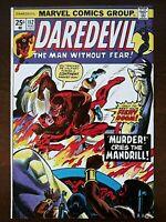 Daredevil #112 (August 1974) Mandrill! Black Widow! Shanna! Death Of a Nation?