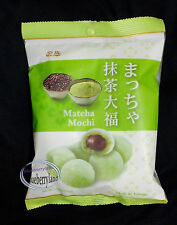 Mochi Daifuku Green Tea Red Bean Rice Cake Snack Sweet Dessert Mocchi sweets