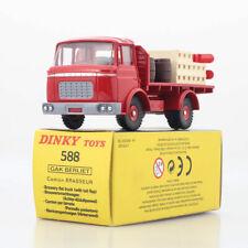 Dinky Toys 588 (9) - BERLIET GAK BRASSEUR Kronembourg, Red, Atlas