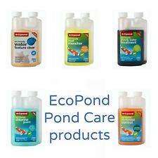 ECOPOND TREATMENTS - Eco Friendly Natural Treatments For A Clean & Healthy Pond