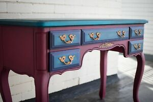 Peacock Dressing / Console Table