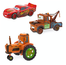DISNEY Cars Lightning McQueen Radiator Springs Pull 'N' Race Die Cast Set **NEW*