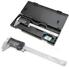 Digital Caliper Gauge Stainless Steel Vernier Caliper 150mm/6inch With box XGTC
