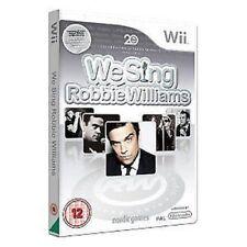 Nintendo Wii Jeu We Sing Robbie Williams NEUF