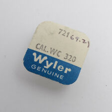 Wyler Cal. Wc320 Watch Balance Complete New Old Stock Watchmakers Parts Nos