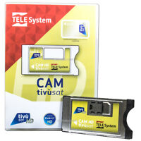 Tivusat CI+ Modul ( Ohne Karte ) RAI Mediaset Telesystem HD 4K Ready CAM