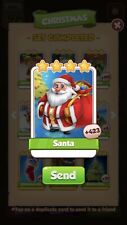 100 X Santa  :- Coin Master Cards ( Fastest Delivery )
