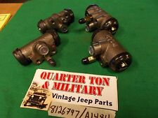Jeep Willys Brake Wheel Cylinder Set 41-68 MB M38 CJ2A CJ3A G503 G740