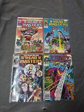 Vintage Marvel Transformers Head Masters #1-4 Ltd Series Newstand Variant