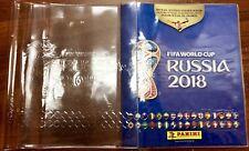 Panini world cup 2018 album plastic Vinyl Cover Protector