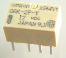 Omron G6K-2P-Y 12VDC Double Pole Change Over Surface Mount Relay OLA1-15