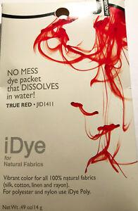 IDye - Farbe 411  True Red  -  zum Färben aller natürlichen Stoffe