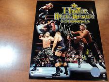 Triple H - Signed 8x10 Photo WWE WWF WCW - GAI GA GLOBAL COA AUTHENTIC