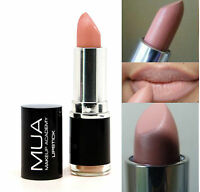 MUA MAKEUP Academy Lipstick NUDE BARE LIGHT BROWN NEW AND SEALED SKIN COLOUR