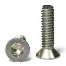 "Torx Flat Head Machine Screw Stainless Steel Screws #4-40 x 5/16"" Qty 50"