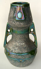 Austrian Karthago Art Pottery Vase, ca. 1905
