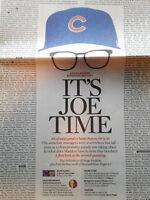 1- Tribune Cubs 2017 NLC Champs! Cover-The Joe Show- Inside Poster Jake Arrieta