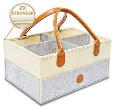 Baby Diaper Caddy Organizer Storage Large, Sturdy, Unisex & Versatile