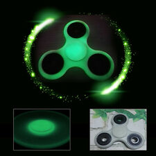 Glowing Hand Spinner Tri Fidget Ceramic Ball Desk Focus Toy EDC For Kids/Adults