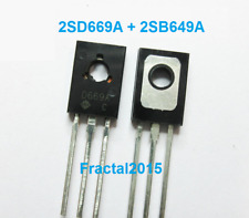 1 paires 2SD669A 2SB649A (D669A + B649A) TO-126 transistor