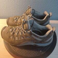 KEEN Alamosa Leather Hiking Shoe Women Size 9 Gray Blue Trail Sneaker Keen-Dry