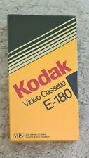 Kodak VHS 180 min Video Cassette E-180