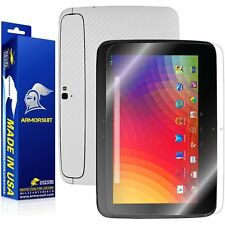 ArmorSuit MilitaryShield Google Nexus 10 Tablet Screen Protector + White Carbon
