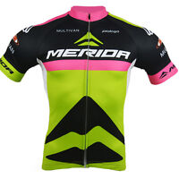 Merida Challenger Team Cycling Clothes Top Mens Cycling Biking Jersey Reflective