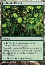 ▼▲▼ 4x Jardin de Khalni (Khalni Garden) Worldwake #138 FRENCH Magic