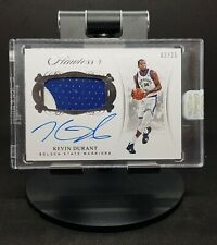 2017-18 Kevin Durant Panini Flawless Patch Auto /25 Signature Jersey *SEALED*