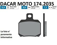 174.2035 PASTILLA DE FRENO SINTERED POLINI MBK THUNDER 150 Carburador