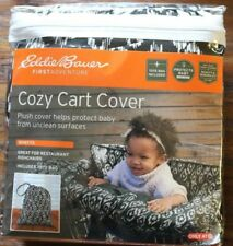 Eddie Bauer First Adventure Cozy Cart Cover w/Tote (Adjustable Strap) Black
