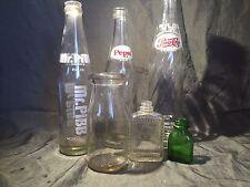 Vintage Bottle Lot Pepsi Mr Pibb St Joseph Fitch Dairy