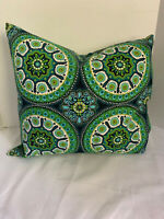 Pillow Cover Southwest Tribal Red Turquoise Custom Made CHOOSE Size Many Sizes