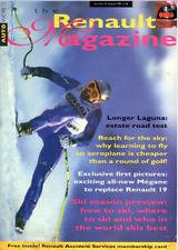 RENAULT  Magazine Autumn 1995 - Megane, Laguna Estate, Espace F1