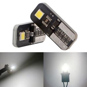 100Pcs White T10 194 168 W5W 3030 SMD LED Car CANBUS Error Free Wedge Light Bulb