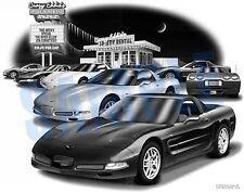 "CORVETTE 2001, 2002 ZO6 Auto Art Car Print #1039 ""FREE USA SHIPPING"""