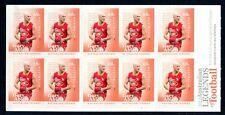 2012 Australian Football Legends (Gary Ablett) Stamp Booklet SB394 (Phil BC)