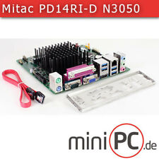 Mitac pd14ri-d-n3050 (Intel d2500hn2) mini-ITX placa madre o base [fanless]
