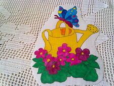 Window Color Bild Gießkanne mit Schmetterling rechts