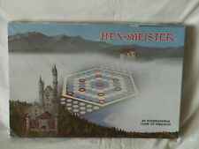 New Sealed 1980 Hex Meister an International Game of Strategy by H.M. Helvey