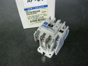 EATON Cutler Hammer CE15FNS3AB 3 Pole Contactor 32 amp, 120vac coil IEC Size F